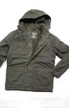 Парка олива новая. Куртка зимняя REGULAR FIT с капюшоном на флисе. Размер XL