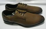 Кожаные мужские туфли BORELLI 43р.