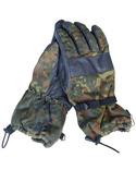 Зимние перчатки flecktarn армии Bundeswehr (Германия). Перчатки зима Бундес р.8 (лот №10)