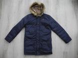 Куртка пуховик GUESS р. XL 14 ( Сост Нового )