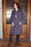 Пальто зима (силикон) 60размер