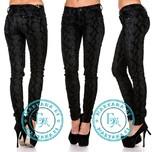 Велюровые джинсы питон 25 размер
