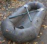 Лодка 230 х 105 весла и насос