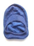 Мужской зимний головной убор с закрытым горлом, ангорка синий