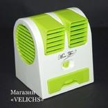 Мини USB кондиционер вентилятор увлажнитель Electric mini Fan photo 1