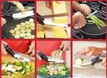 Универсальные кухонные ножницы 2 в 1 photo 12