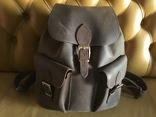 Большой рюкзак, натуральная кожа