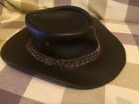 Кожаная шляпа BUTE photo 1