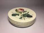 Набор тарелок (6шт) Roy Kirkham Redoute Rose