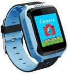 Детские умные часы Smart Baby Watch Q65/G900A/Q528/Q529/Q150/iQ600/T7 синие