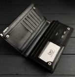 Портмоне, клатч Wallerry (цвет черный) photo 3
