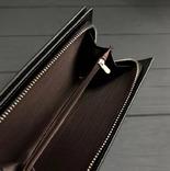 Портмоне, клатч Wallerry (цвет черный) photo 4