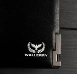 Портмоне, клатч Wallerry (цвет черный) photo 5