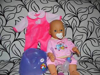 Кукла пупс Beby Born + одежда