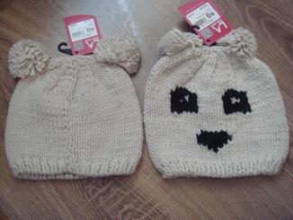 Детские , подростковые шапки . зима - весна - осень . № 1