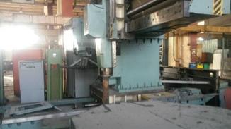 Механическая база сверлильно фрезерно расточного станка 2555ПМФ4
