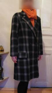 Элегантное двубортное пальто Element