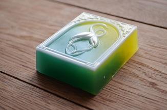 Мыло авторской ручной работы -Журавли- с ароматом комфорт 102 г