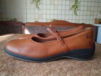 Шкіряні туфлі р.41 Murtosa (Portugal)