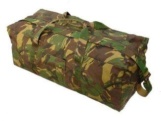 Транспортная сумка-рюкзак 100L камуфляж DPM армия Голландии/Нидерланды. Лот №40