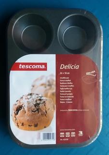 Форма для 6-ти кексов DELICIA, 26*18 см