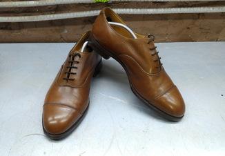 Туфли оксфорды Tricker`s р-р. 43-43.5-й (28.4 см)