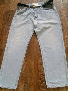 Le Cooper - фирменные джинсы с  ремнем