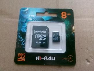 Карта памяти HI-RALI 8GB