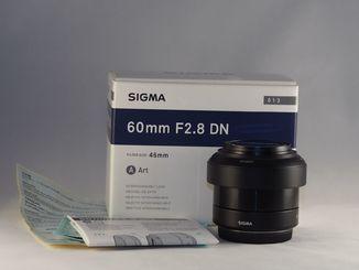 Sigma Art DN f2.8/60mm