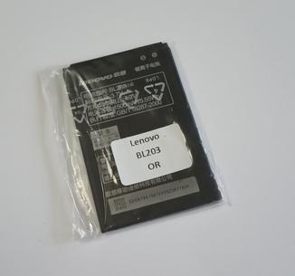 Аккумулятор Lenovo BL203, A208t, A218t, A269, A278T, A305e, A369, A369i, A365E, A66