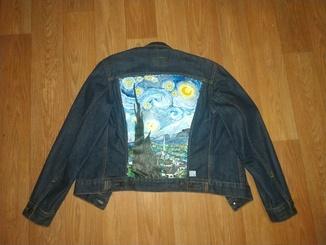 Джинсовая куртка Levi's Van Gogh