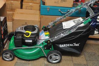 Самоходная бензиновая газонокосилка Gardenline 46 СМ
