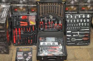 Набор инструментов, ключей Kraft 386шт.