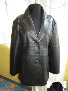 Женский классический кожаный пиджак PRINCE. Лот 479