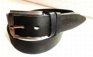 Длинный мужской кожаный ремень BOSS. 118 см. Лот 108