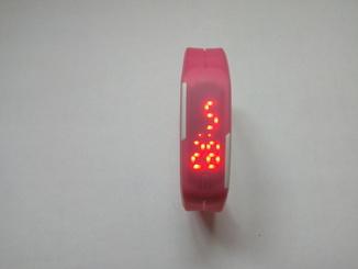 Часы-браслет для спорта (фитнеса) Розові