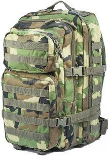 Рюкзак камуфляж вудлендн Assault штурмовой Mil-Tec  (Германия). Новый. 36литров Woodland