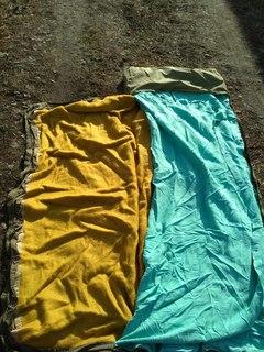 Военный спальный мешок 3в1 (чехол, простынь, одеяло) армии Чехии. Спальник №19 - б/у