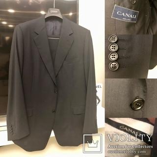 Canali оригинальный мужской костюм 56