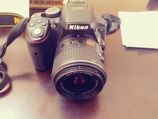 Зеркальный фотоаппарат Nikon D5300 kit (18-55mm VR ll)