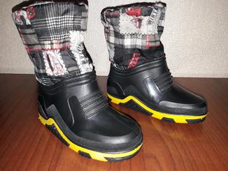Сапоги, сапожки Speed Step демисезон, зима 24р., стелька 14 см.