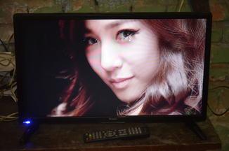 Телевизор BRAVIS LED-22F1000 + T2 black