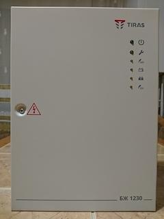ББП БЖ-1230 (12В, 3А) для систем охранно-пожарной сигнализации