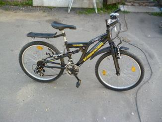 Велосипед  KREIDLER  ALU 7005  на 24 кол.   з Німеччини