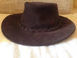 Шляпа kookaburra замша
