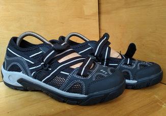 Кроссовки (сандалии) HN-97 р-р. 37-й (23.4 см) (Черные)