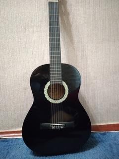 Чёрная классическая Гитара 6 струн