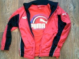 Puma - мастерка + футболка