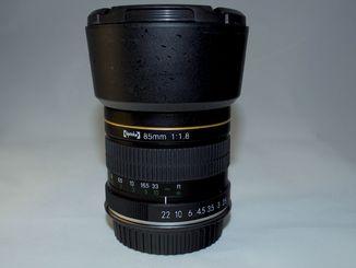 Opteka 85mm f/1.8 Aspherical