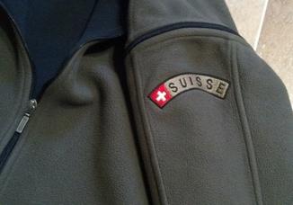 Флисовая кофта Швейцария.